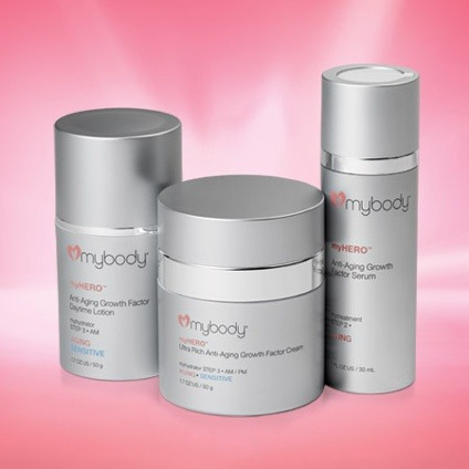 myhero Collection mybody Skin Care