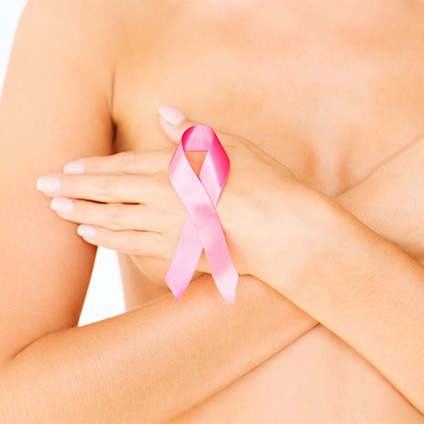Hidden-Scar Cancer Surgery Pink Ribbon