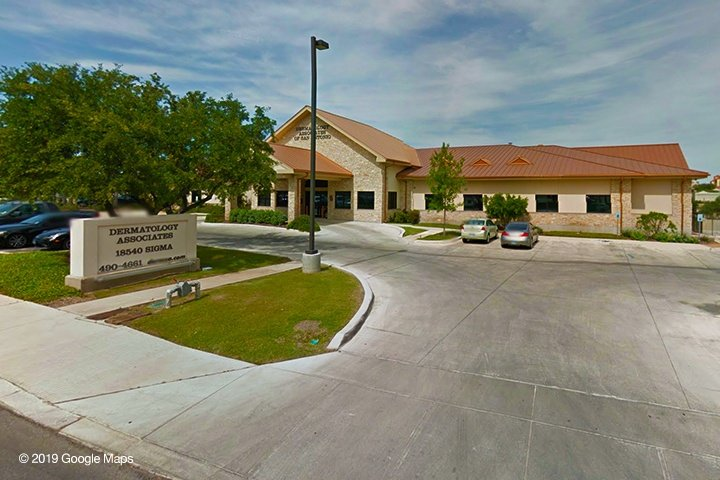 Dermatology Associates of San Antonio-Northeast Pat Booker Office Exterior